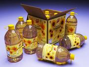 食用油ボトル 3d model