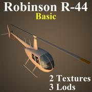 R44 Basic 3d model