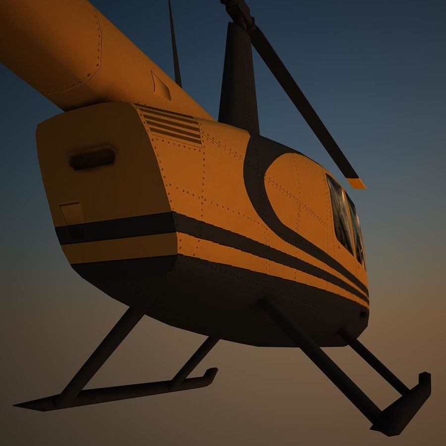 R44 VIP royalty-free 3d model - Preview no. 8