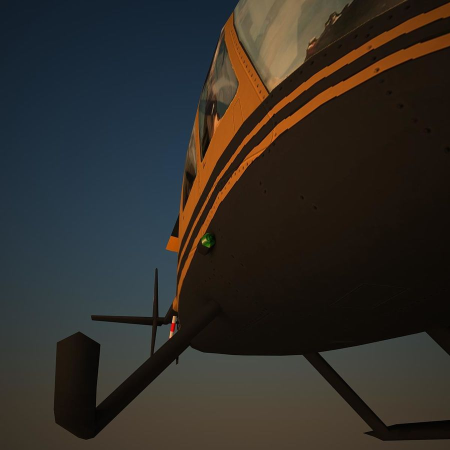 R44 VIP royalty-free 3d model - Preview no. 7