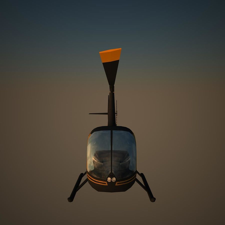 R44 VIP royalty-free 3d model - Preview no. 2
