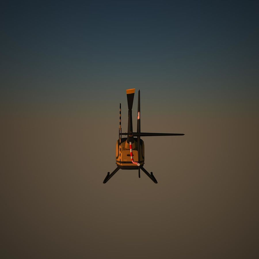 R44 VIP royalty-free 3d model - Preview no. 4