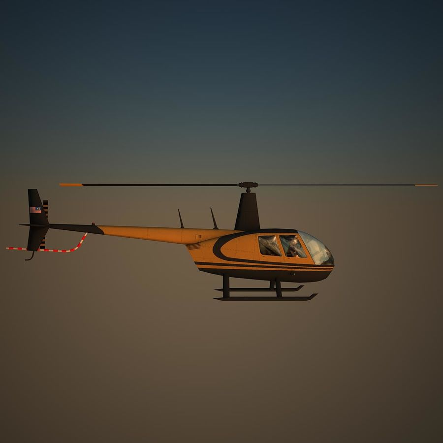R44 VIP royalty-free 3d model - Preview no. 3