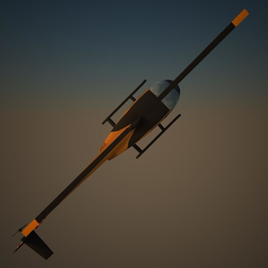 R44 VIP royalty-free 3d model - Preview no. 5