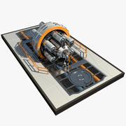 Scifi Enigine Reactor 2 3d model