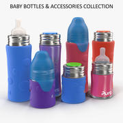Pura Kiki Baby Bottles And Accessories Collection 3d model