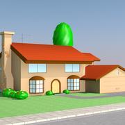 辛普森之家 3d model