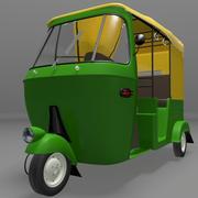 自動人力車 3d model