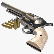 Revolver 3D-Modell 3d model