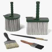Brushes 3d model