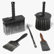 Brushes Used 3d model