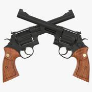 Revolver Black 3D模型 3d model