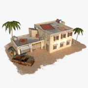 Arab Building 7 3d model