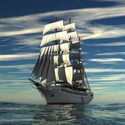 Sea Cloud 2 Dream modelo 3d