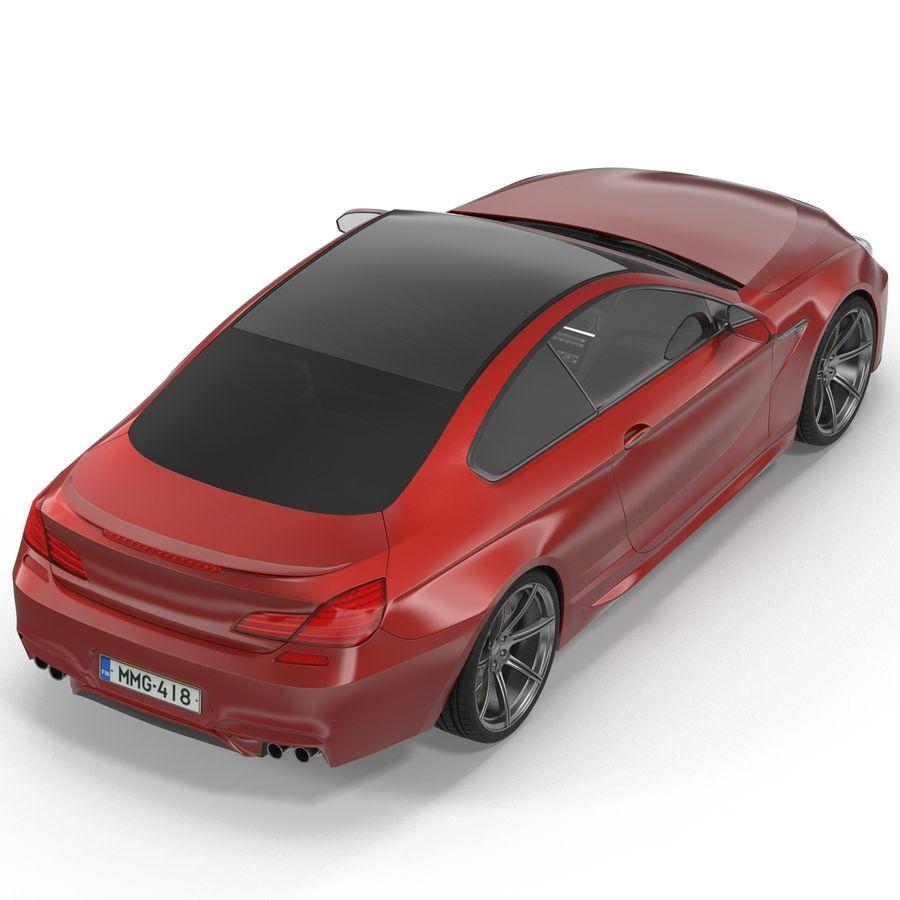 Generic Sedan royalty-free 3d model - Preview no. 7