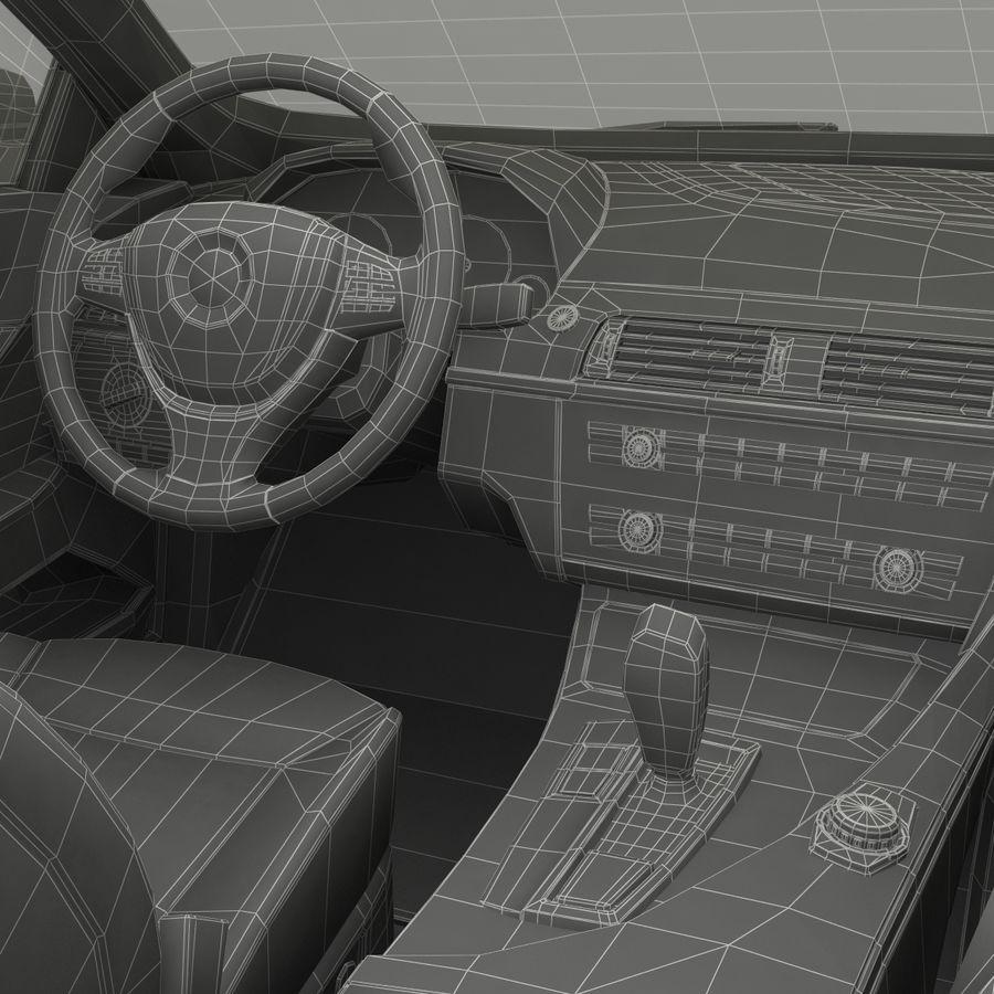 Generic Sedan royalty-free 3d model - Preview no. 42