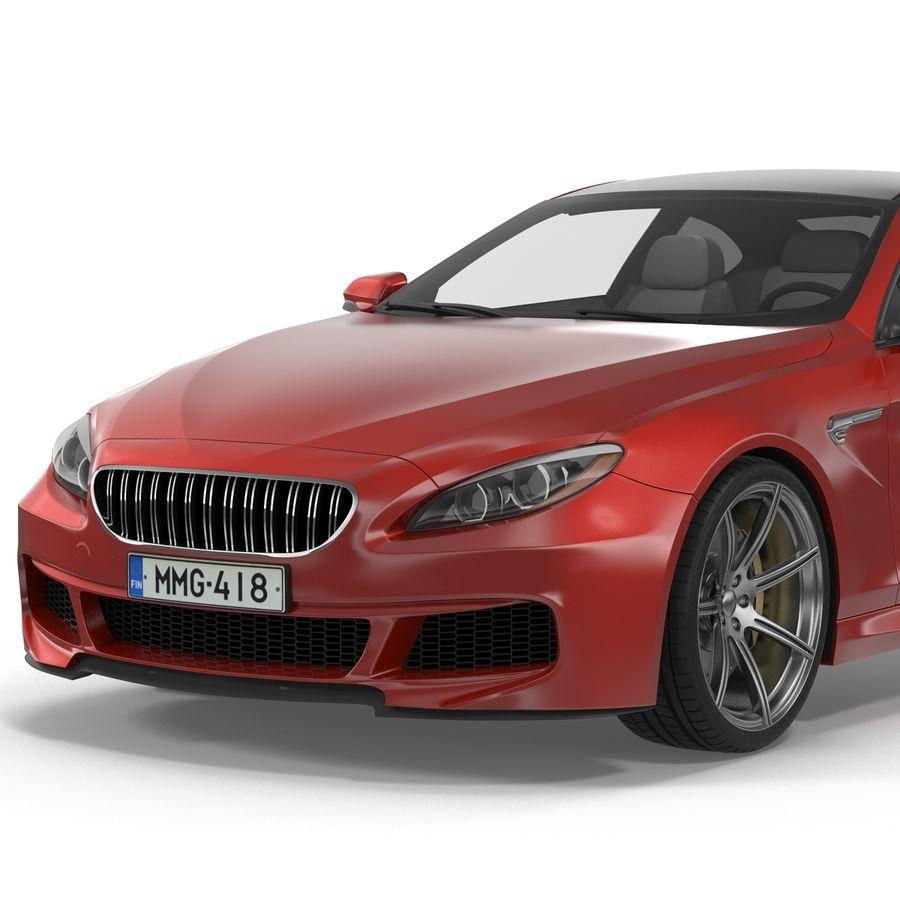 Generic Sedan royalty-free 3d model - Preview no. 17