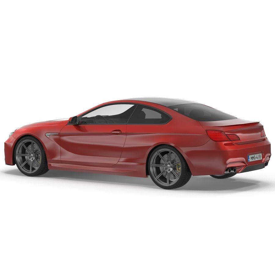 Generic Sedan royalty-free 3d model - Preview no. 5