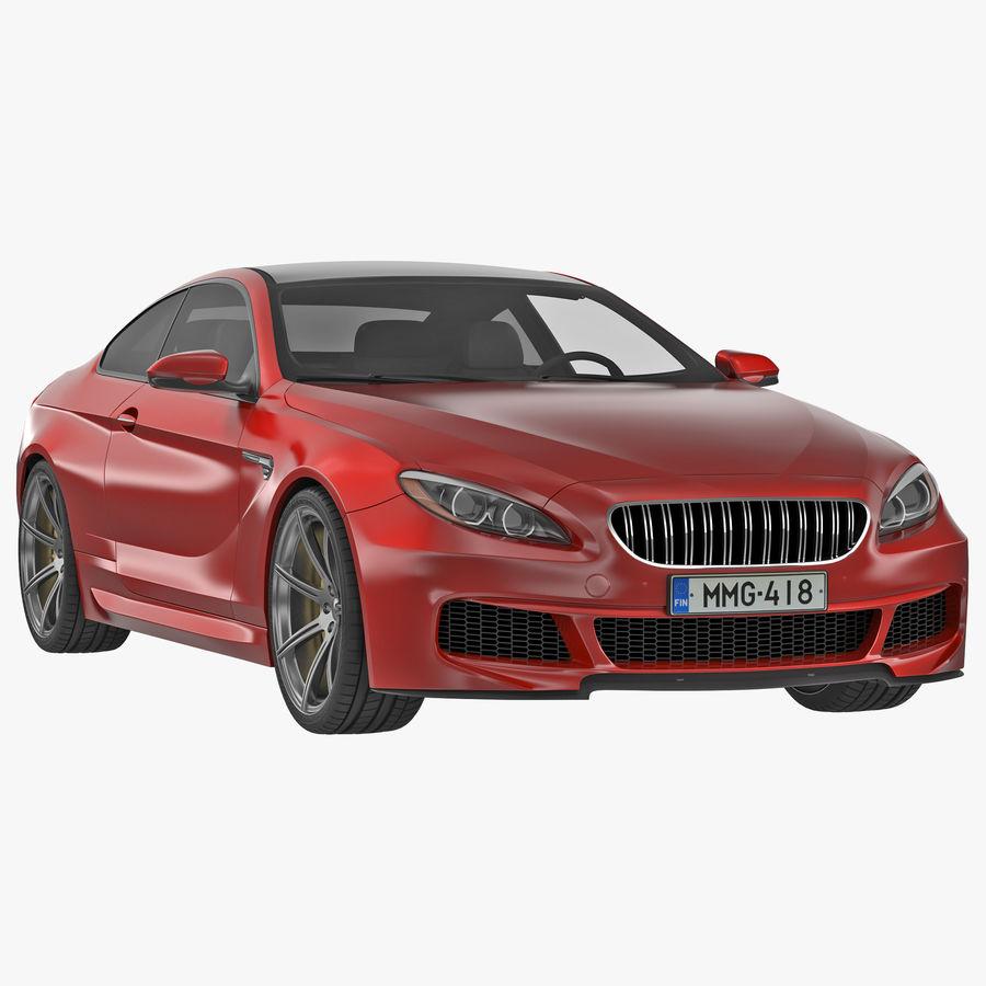 Generic Sedan royalty-free 3d model - Preview no. 1