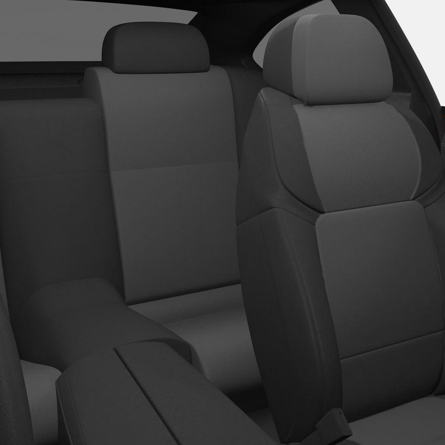 Generic Sedan royalty-free 3d model - Preview no. 29