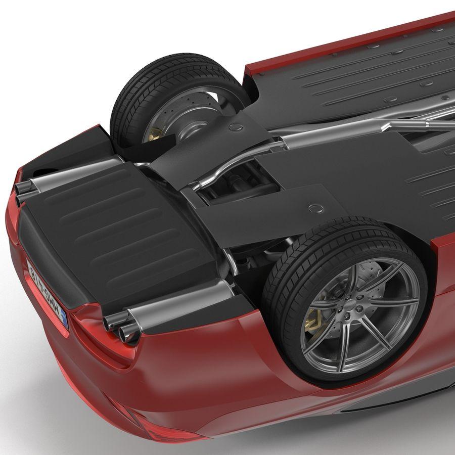 Generic Sedan royalty-free 3d model - Preview no. 14
