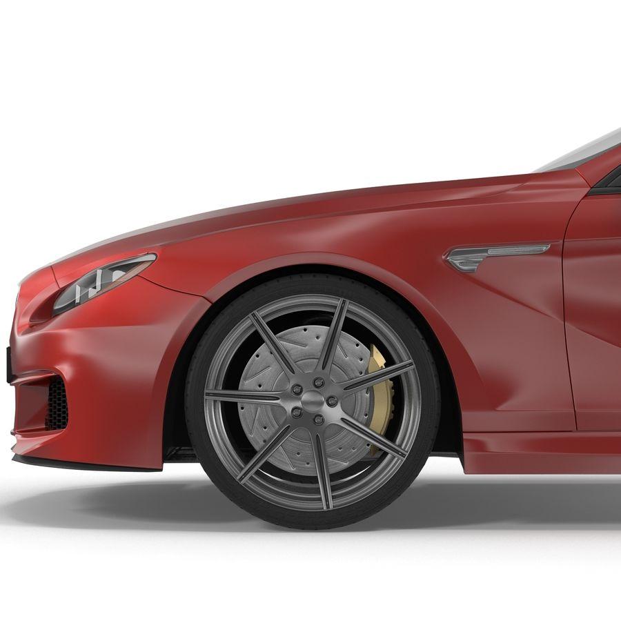 Generic Sedan royalty-free 3d model - Preview no. 18