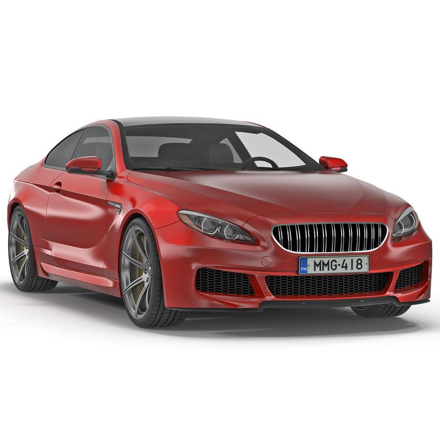 Generic Sedan royalty-free 3d model - Preview no. 2