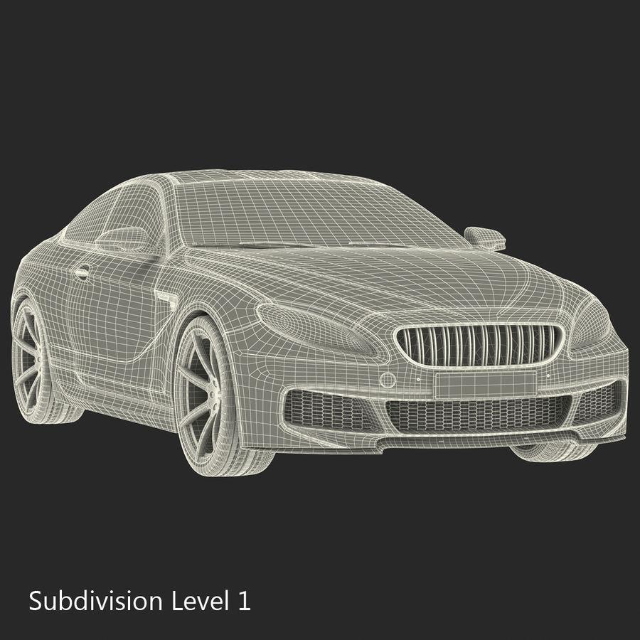 Generic Sedan royalty-free 3d model - Preview no. 31