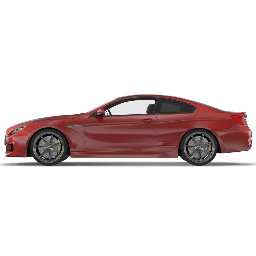 Generic Sedan royalty-free 3d model - Preview no. 9