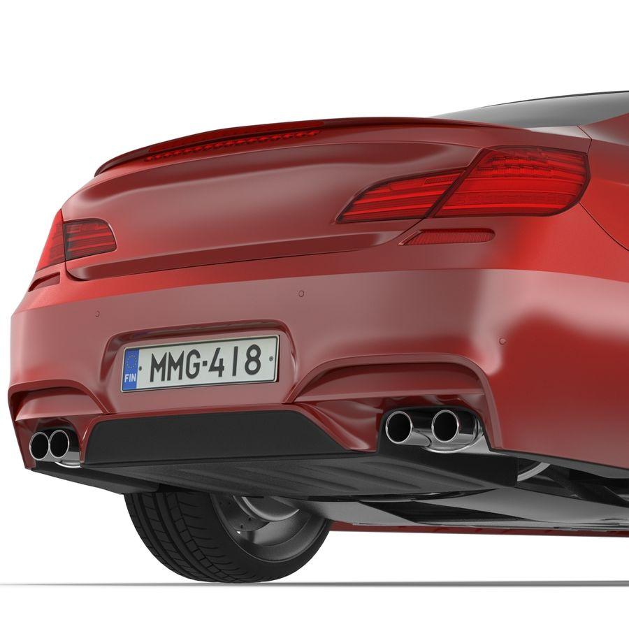 Generic Sedan royalty-free 3d model - Preview no. 23
