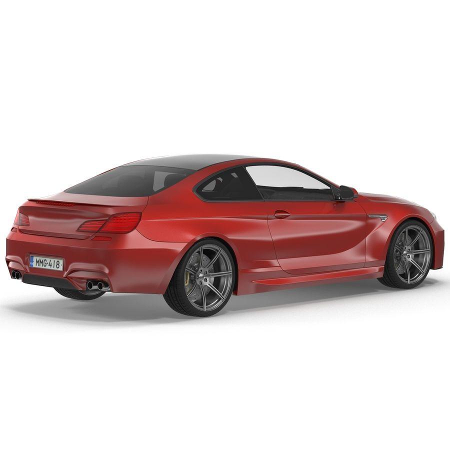 Generic Sedan royalty-free 3d model - Preview no. 6