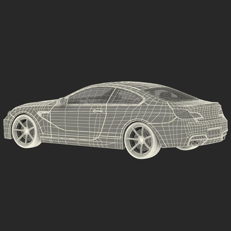 Generic Sedan royalty-free 3d model - Preview no. 36