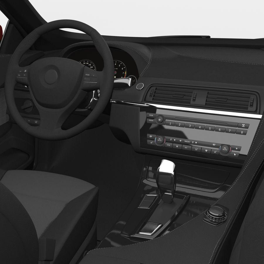 Generic Sedan royalty-free 3d model - Preview no. 25