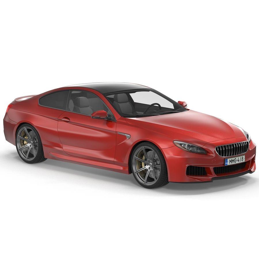 Generic Sedan royalty-free 3d model - Preview no. 4