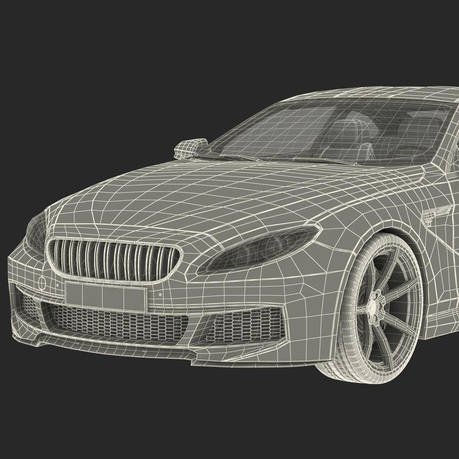 Generic Sedan royalty-free 3d model - Preview no. 39
