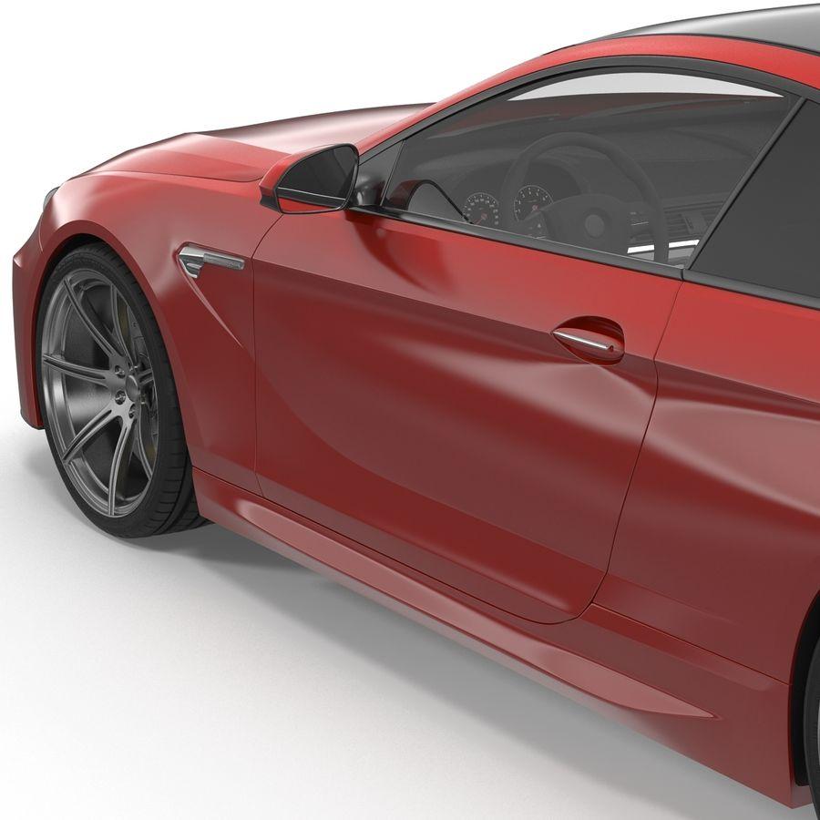 Generic Sedan royalty-free 3d model - Preview no. 20