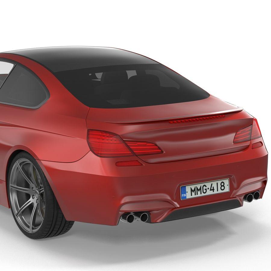 Generic Sedan royalty-free 3d model - Preview no. 21