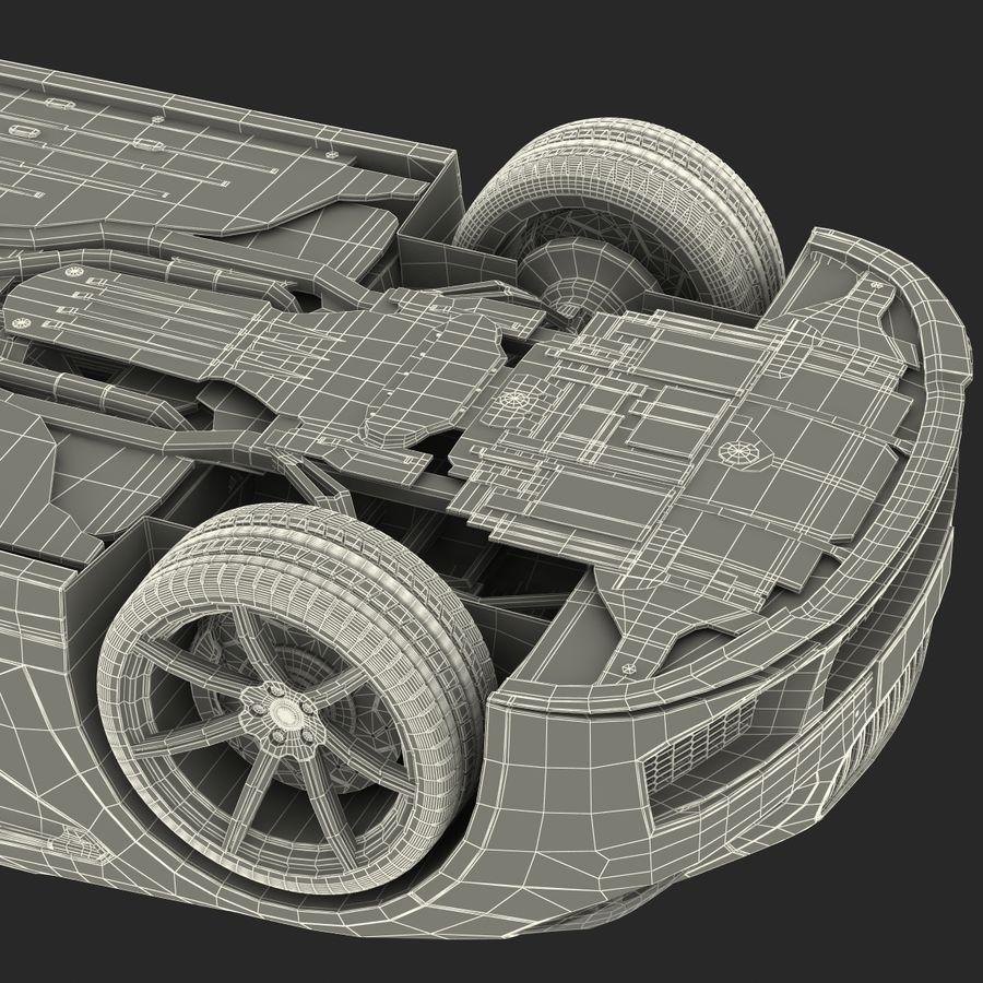 Generic Sedan royalty-free 3d model - Preview no. 38