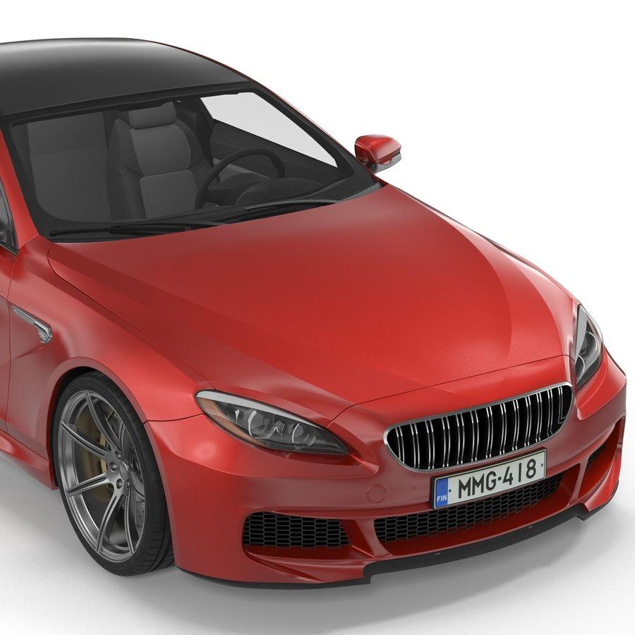Generic Sedan royalty-free 3d model - Preview no. 15