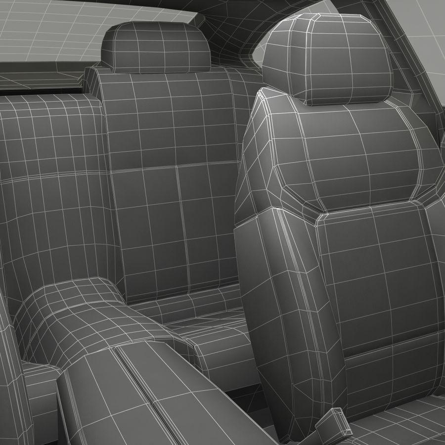 Generic Sedan royalty-free 3d model - Preview no. 44