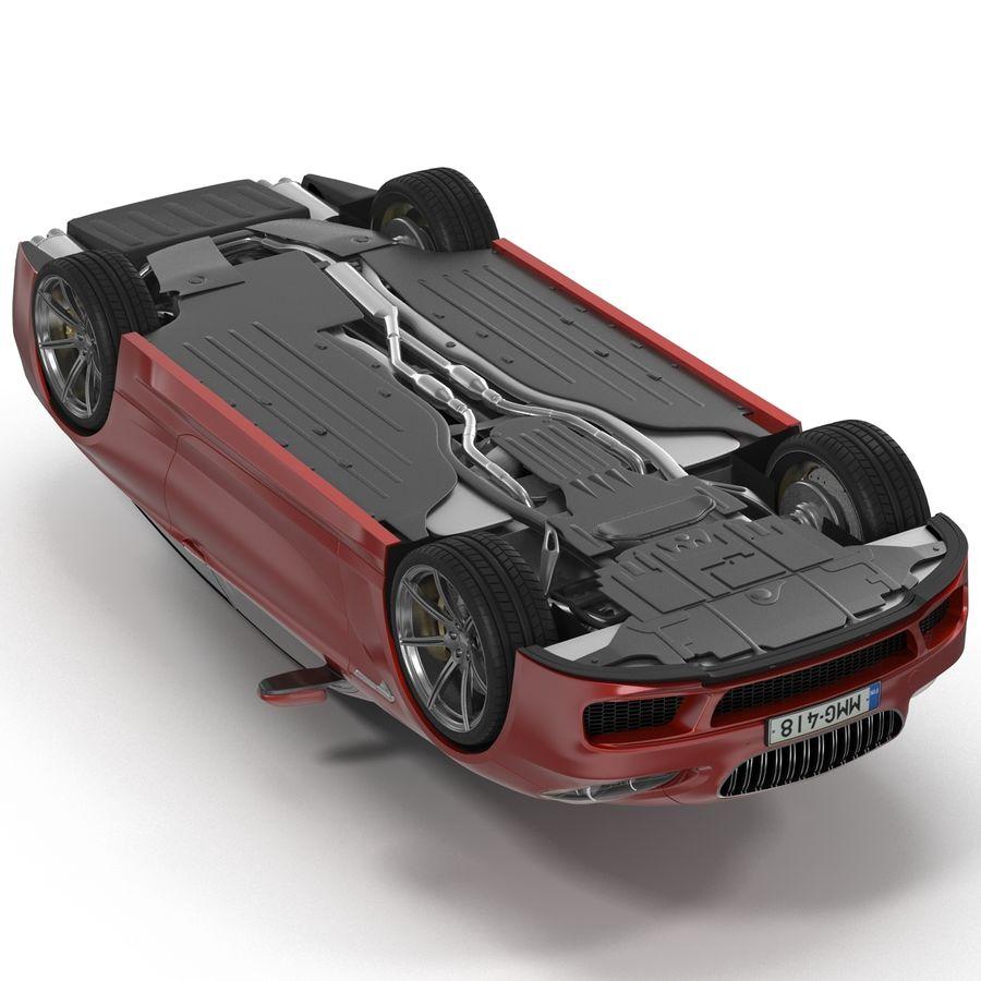 Generic Sedan royalty-free 3d model - Preview no. 12