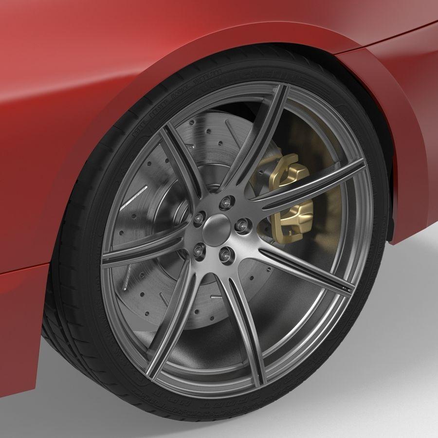 Generic Sedan royalty-free 3d model - Preview no. 24