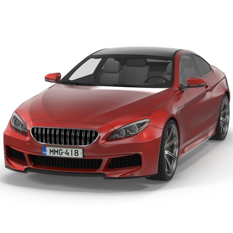 Generic Sedan royalty-free 3d model - Preview no. 3