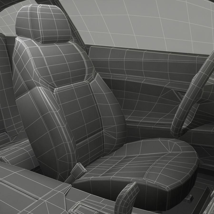 Generic Sedan royalty-free 3d model - Preview no. 43