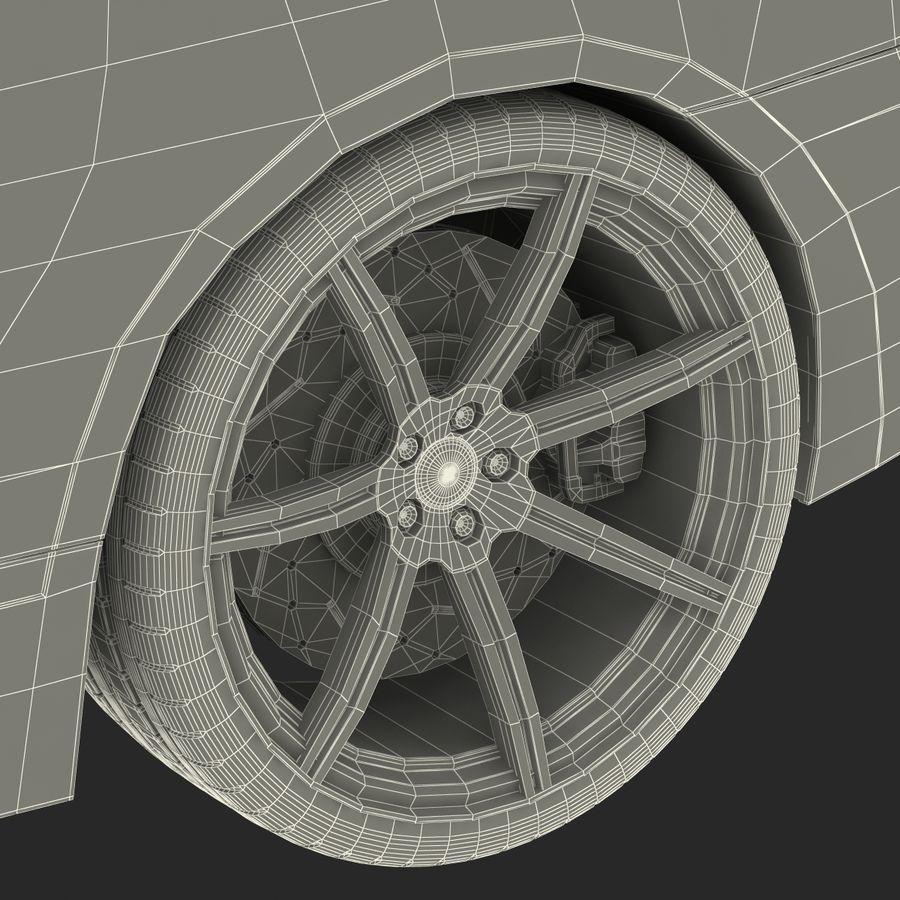 Generic Sedan royalty-free 3d model - Preview no. 41