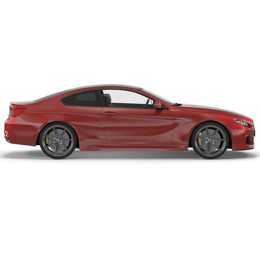 Generic Sedan royalty-free 3d model - Preview no. 10
