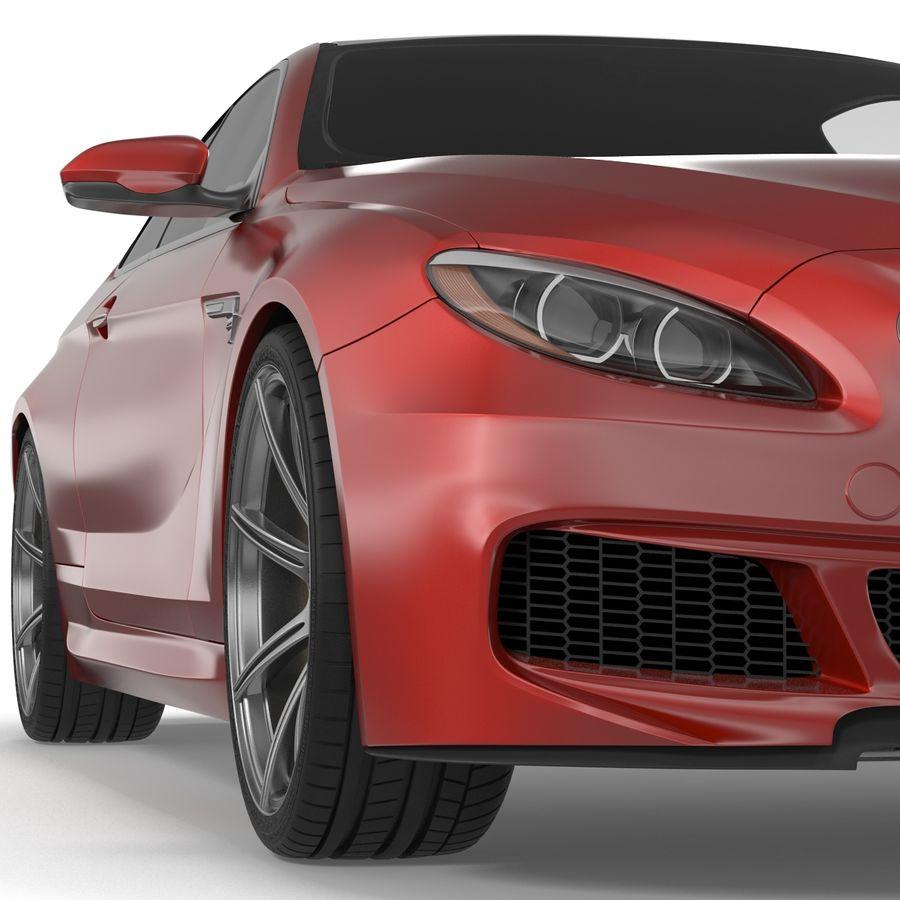 Generic Sedan royalty-free 3d model - Preview no. 16
