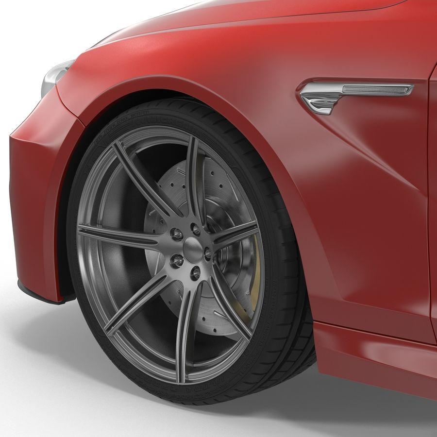 Generic Sedan royalty-free 3d model - Preview no. 19