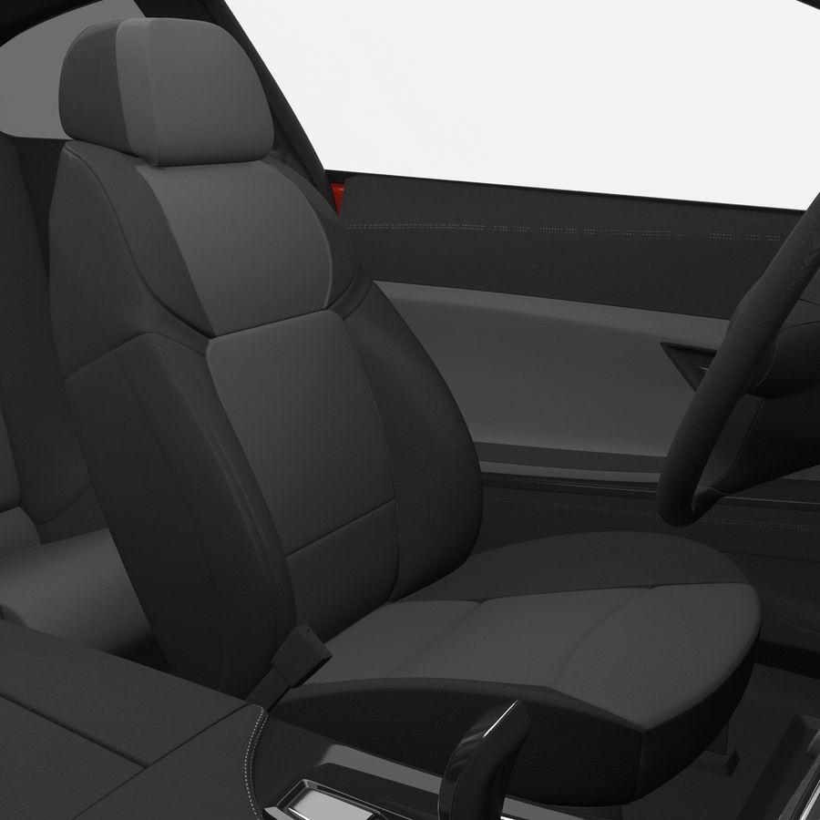 Generic Sedan royalty-free 3d model - Preview no. 28