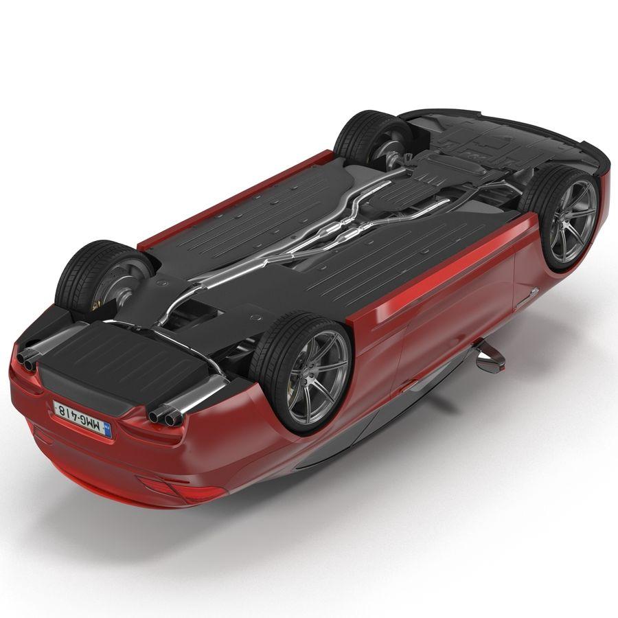Generic Sedan royalty-free 3d model - Preview no. 11